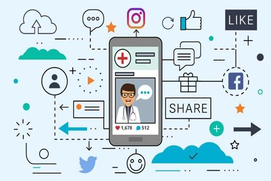 اینستاگرام و وب سایت از مهمترین ابزارهای بازاریابی مجازی پزشکی هستند